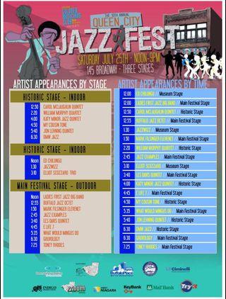 Queen city jazz fest line up