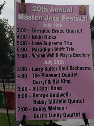 Masten district jazz festival