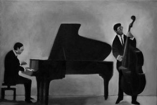 Jazz duo art