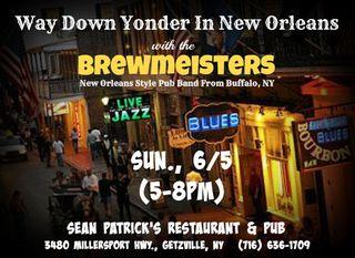 Brewmeisters @ Sean Pat's 6-16