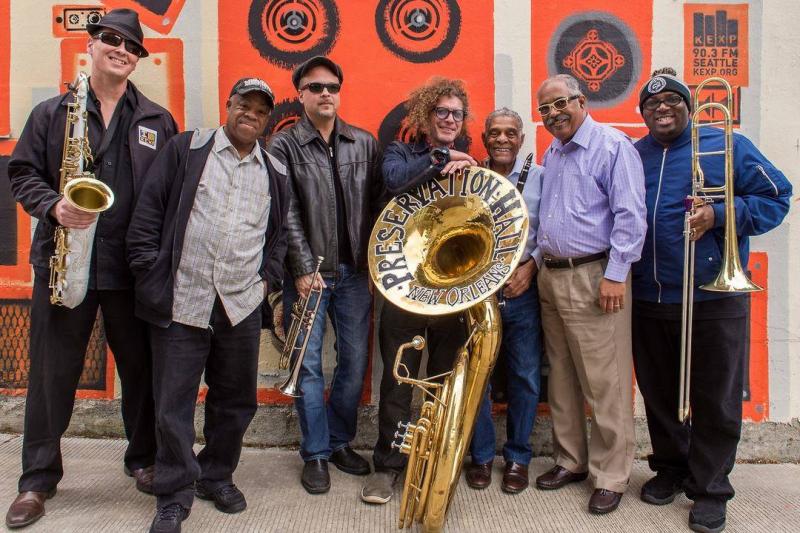 Preservation hal jazz band