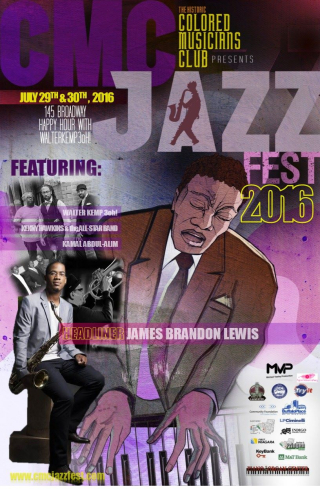 Cmc jazz fest poster style