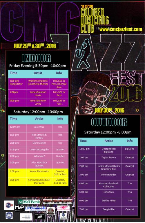Cmc jf schedule