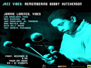 Bobby hutcherson 12 16.001