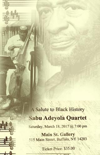 Sabu adeyola black history event