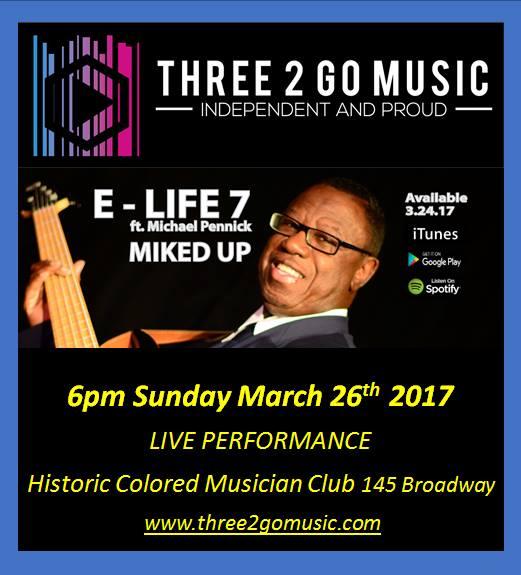 E life 7 concert