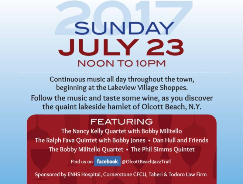 Olcott beach jazz trail