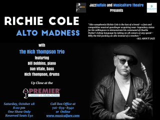 Richie Cole at MusicalFare 10 28.001