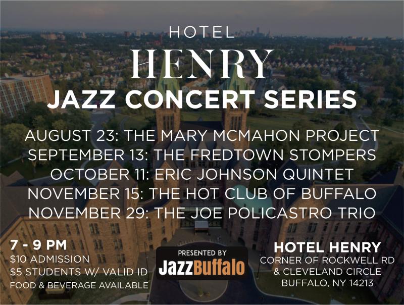 Hotel Henry Jazz Concert Series Poster
