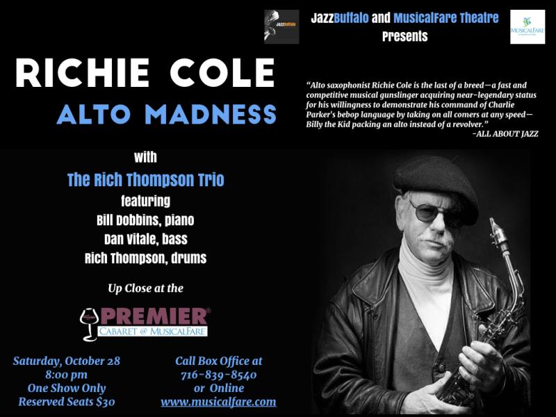 Richie Cole at MusicalFare 10 28.001