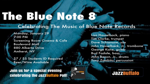 BLue note 8 at screening room