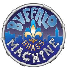 Buffalo brass machine logo
