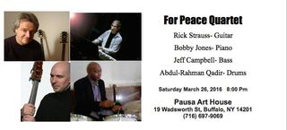 Rick strauss for peace