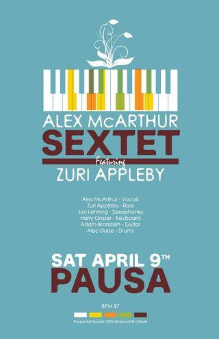 Alex mcarthur sextet