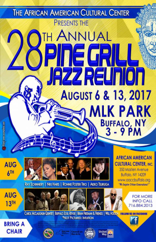 Pine grill reunion poster