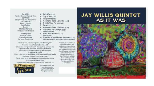 Jay willis quintet