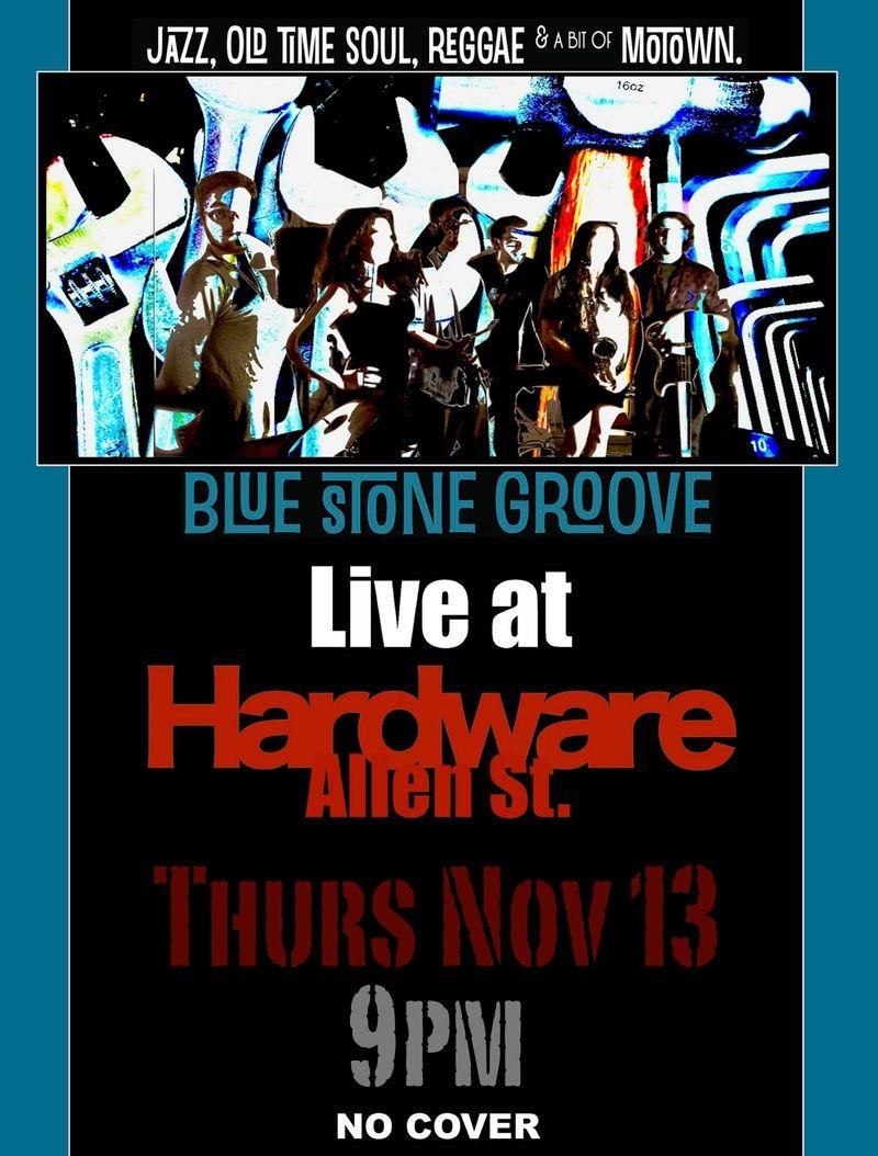 Blues tone poster