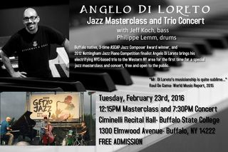 Angelo Di Loreto- Poster for Masterclass