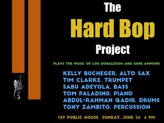 Hard Bop Project at 189