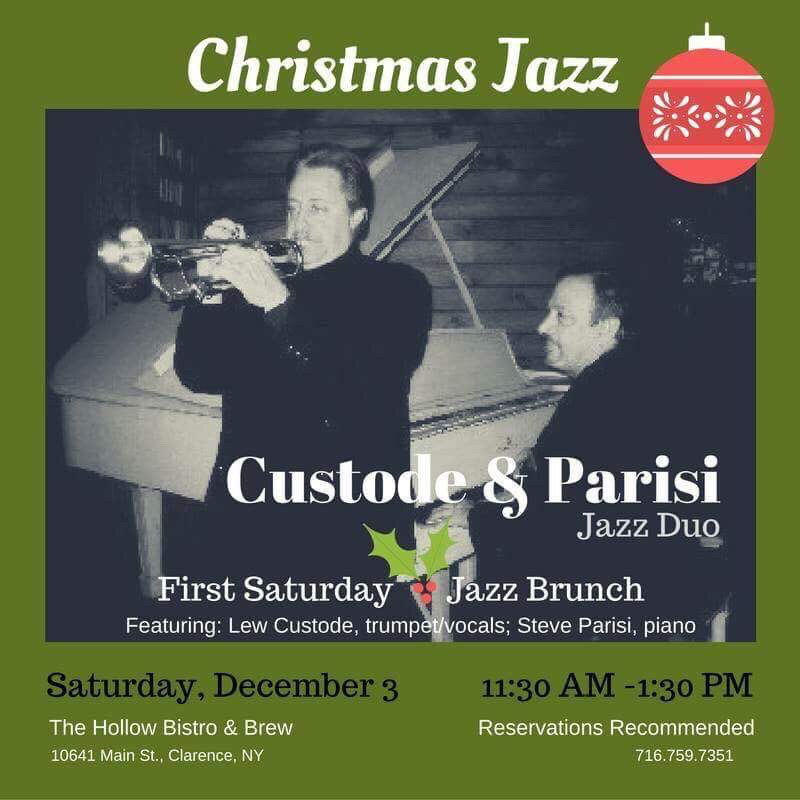 Christmas jazz brunch