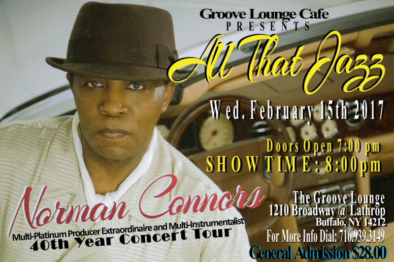 SMALL FLYER NORMAN CONNORS