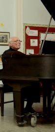 Ron corsaro at piano