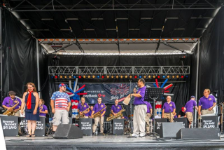 George scott big band july 4th