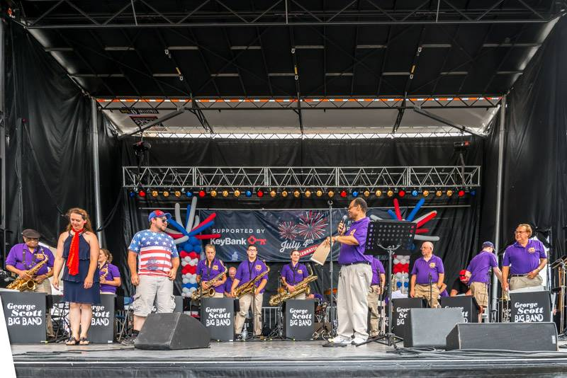 George scott big band july 4th