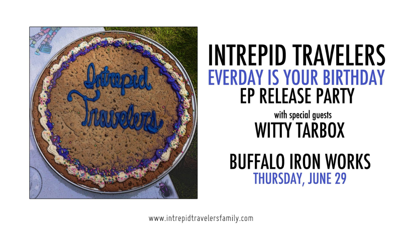Intrepid travelers ep release