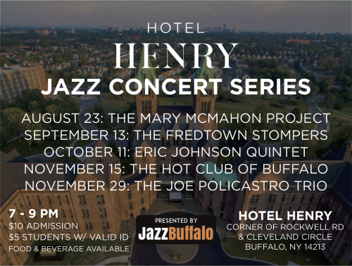 Hotel Henry Jazz Concert Series Poster