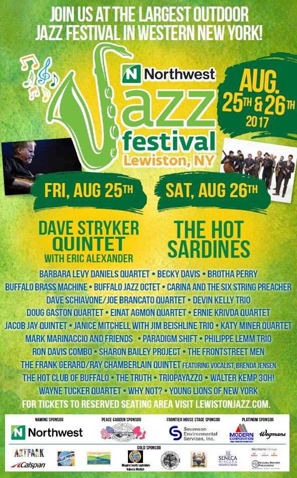 Northwest jazz fest poster
