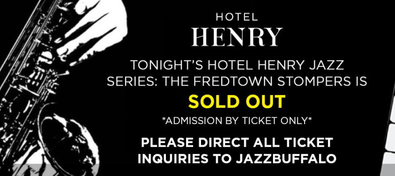 Hotel henry sold out by hh