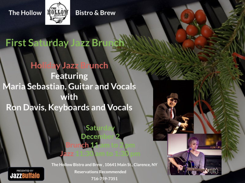 Hollow bistro holiday jazz brunch.001