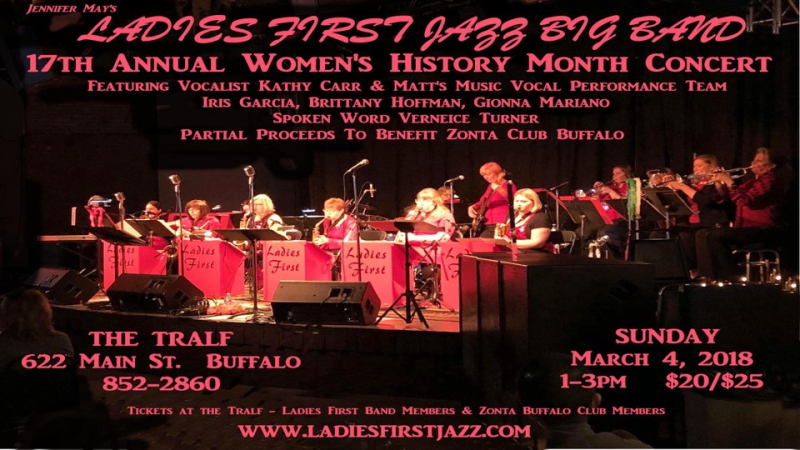 Ladies first big band march 4 ppt