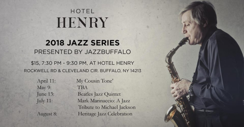Hotel henry 2018 jazz series